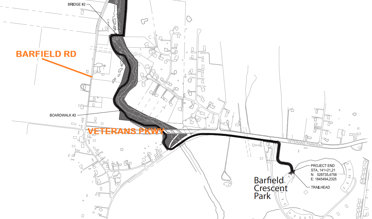 Greenway Trail in Murfreesboro is growing to Barfield Park
