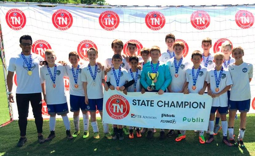 Murfreesboro Soccer Club's 2004 Boys Elite Select Soccer Team Wins Division III