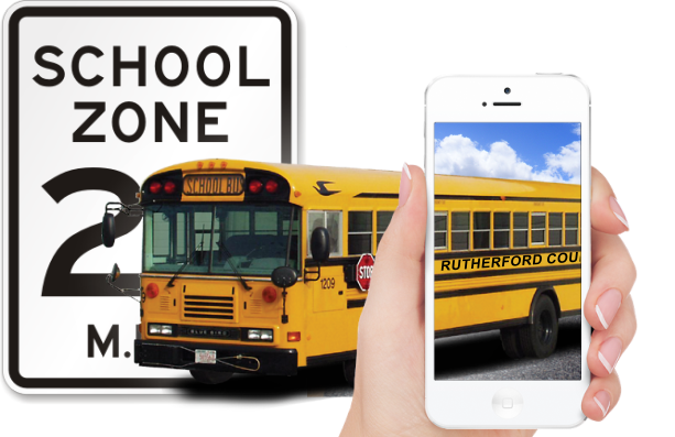 New Law in Action Now - No talking or texting on phone in school zones