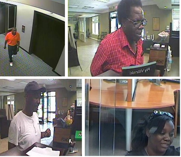 Do you recognize these suspects?