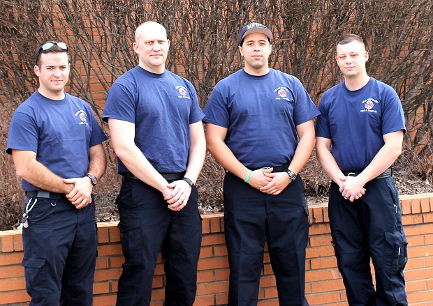 Murfreesboro Fire & Rescue Department welcomed four new Firefighters this week