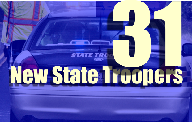 31 New State Troopers in Tennessee