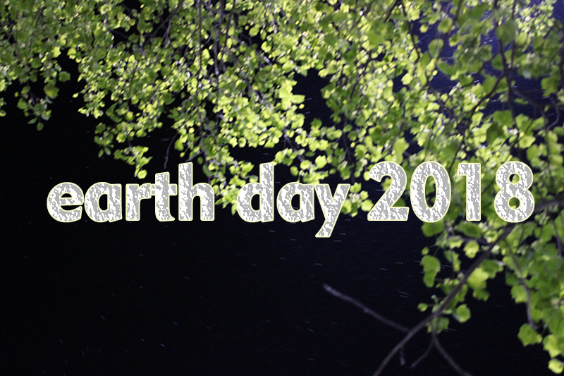 Earth Day is this Saturday