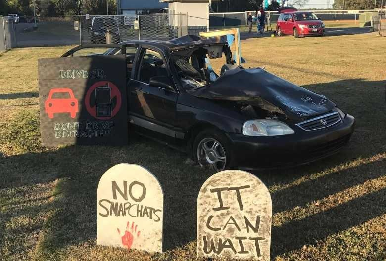 Siegel High School wins $2,500 for safe-driving campaign