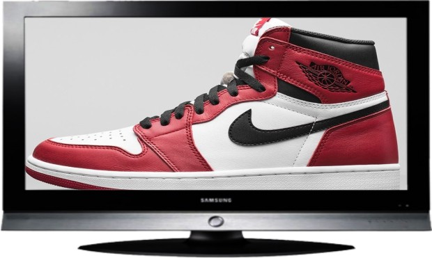 Burglary of a Large Screen TV and Retro Nike Air Jordan Shoes