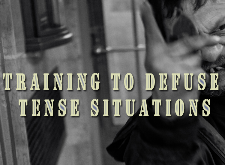 Local Church to provide Training on Defusing Tense Situations