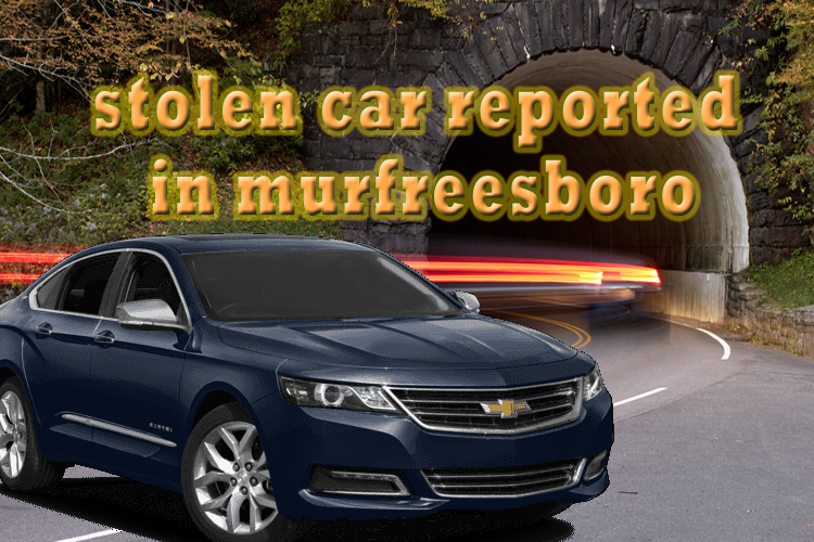 Stolen Car in Murfreesboro