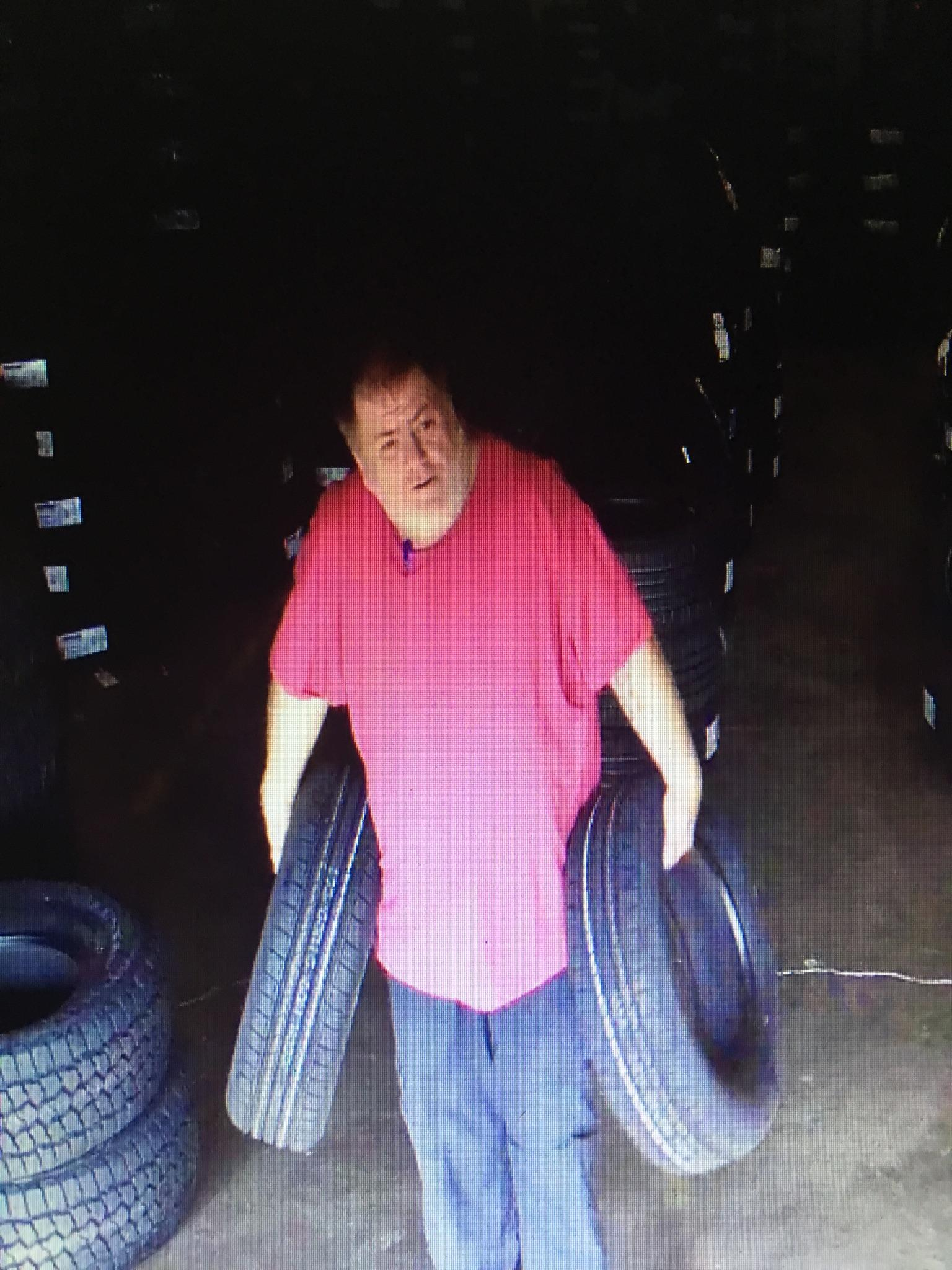 Theft of Tires at local Tire Dealer in Murfreesboro