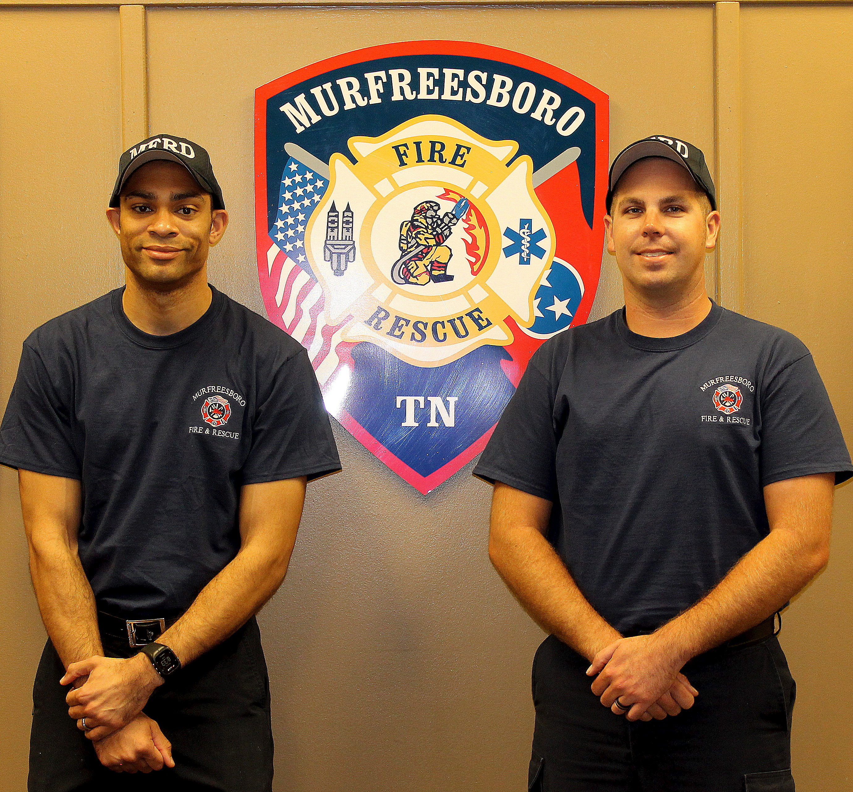 The Murfreesboro Fire and Rescue Department has Two New Employees
