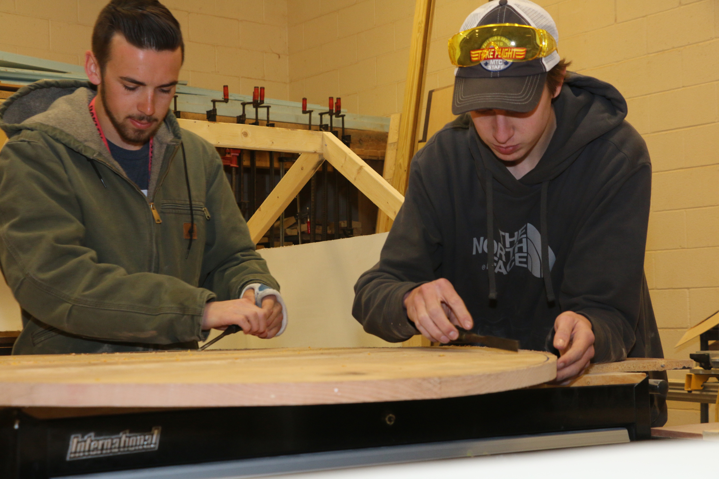 Oakland building-trades students benefit from generous donations from local Construction Council