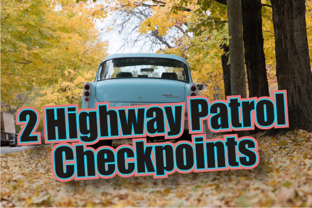 Two Seat Belt Check Points this Friday and Saturday Night
