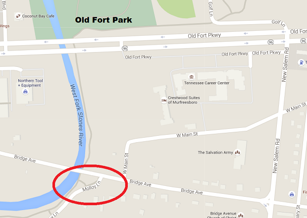 Man stripped of clothing and robbed on the Murfreesboro Greenway