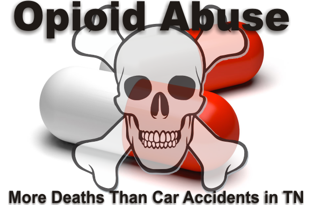 Opioid Abuse Kills More Tennesseans Than Car Accidents or Gunshots