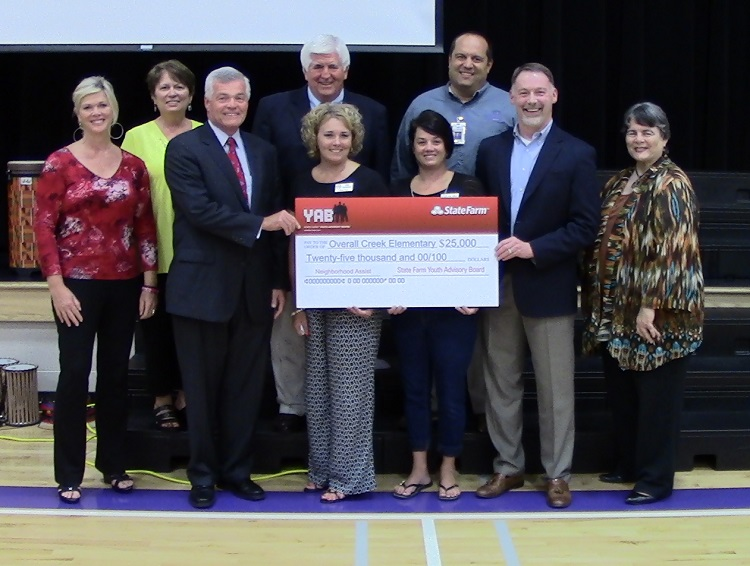 Overall Creek School in Murfreesboro Receives $25,000