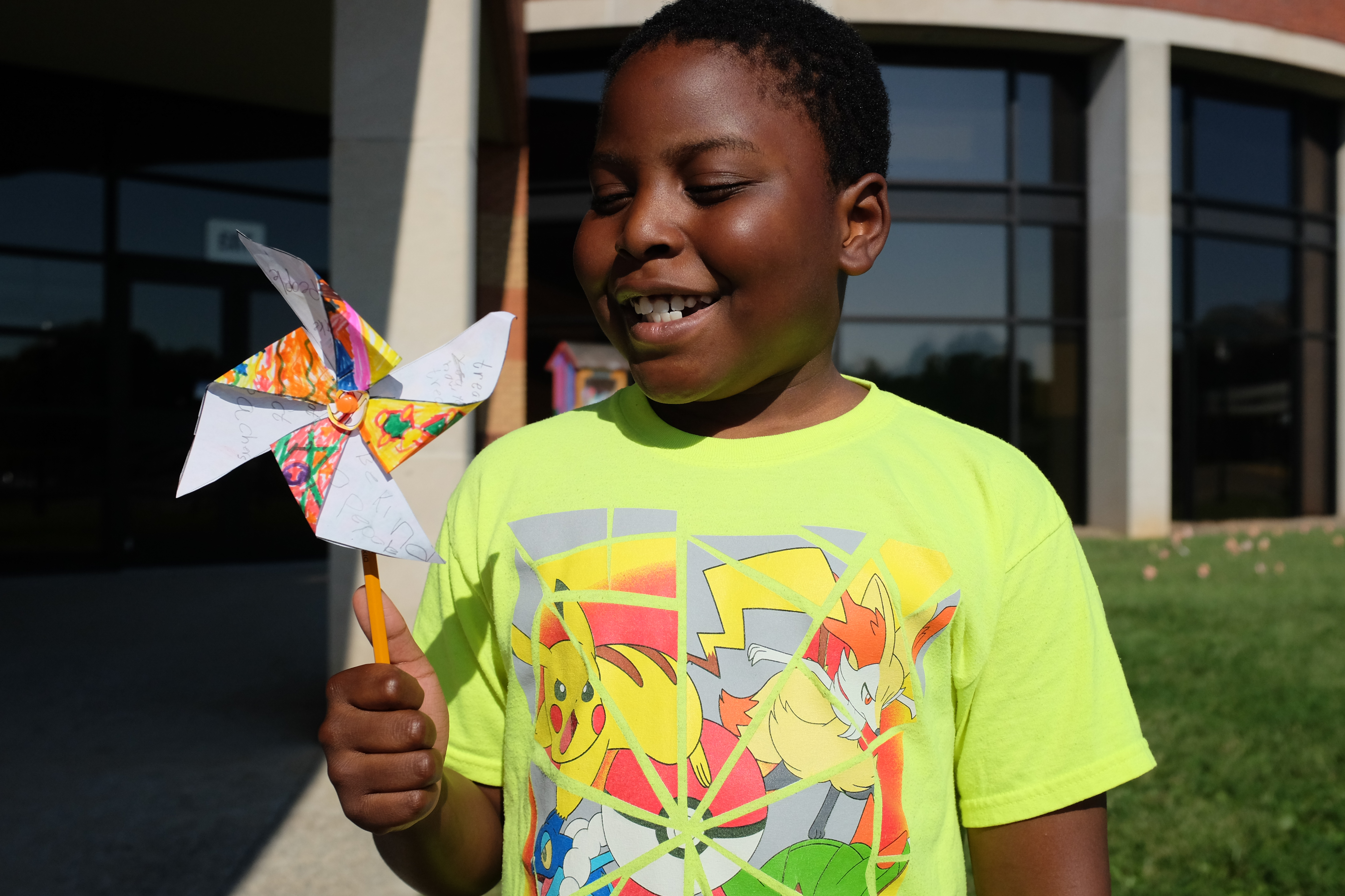 World Peace Day and the Pinwheel Project at Bradley Academy in Murfreesboro