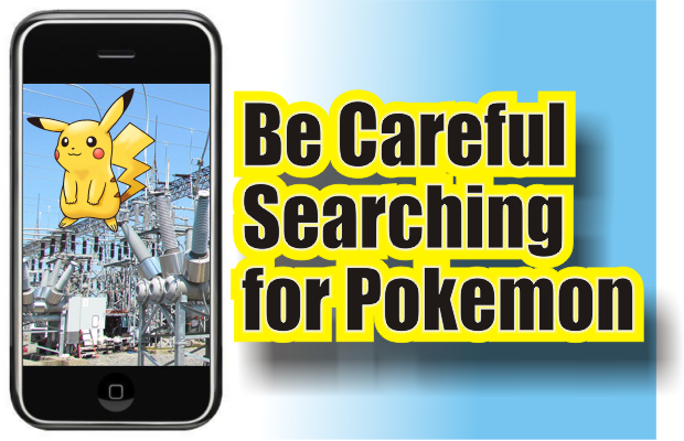 Pokemon Go Seekers Will be Prosecuted if found to be in Murfreesboro Electric Substations