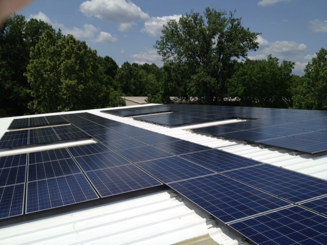 LightWave Solar Installs Solar Panels for Local Contractor Precision Air