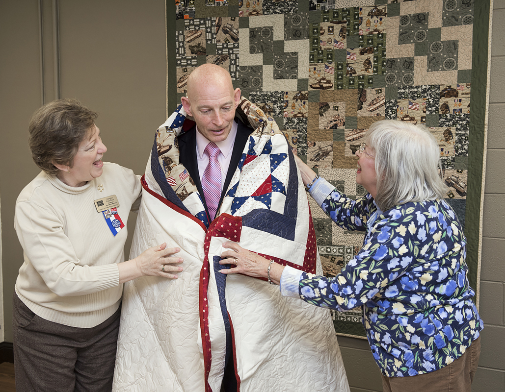 UPDATE: Quilts of Valor at MTSU