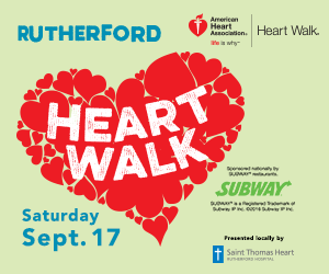Why Would You Walk in the Rutherford Heart Walk this Saturday?