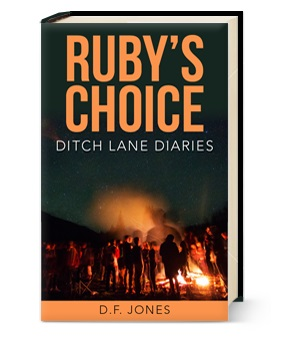 Ruby's Choice is the debut novel by Murfreesboro resident D.F. Jones and book one of the Ditch Lane Diaries