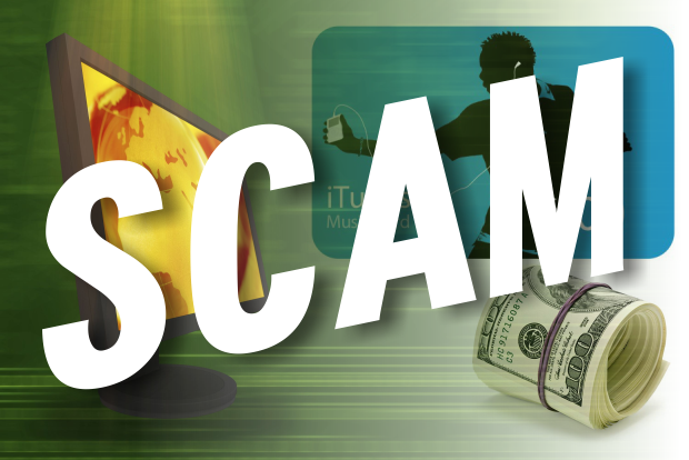 Scam Using I-Tunes Gift Cards in Murfreesboro