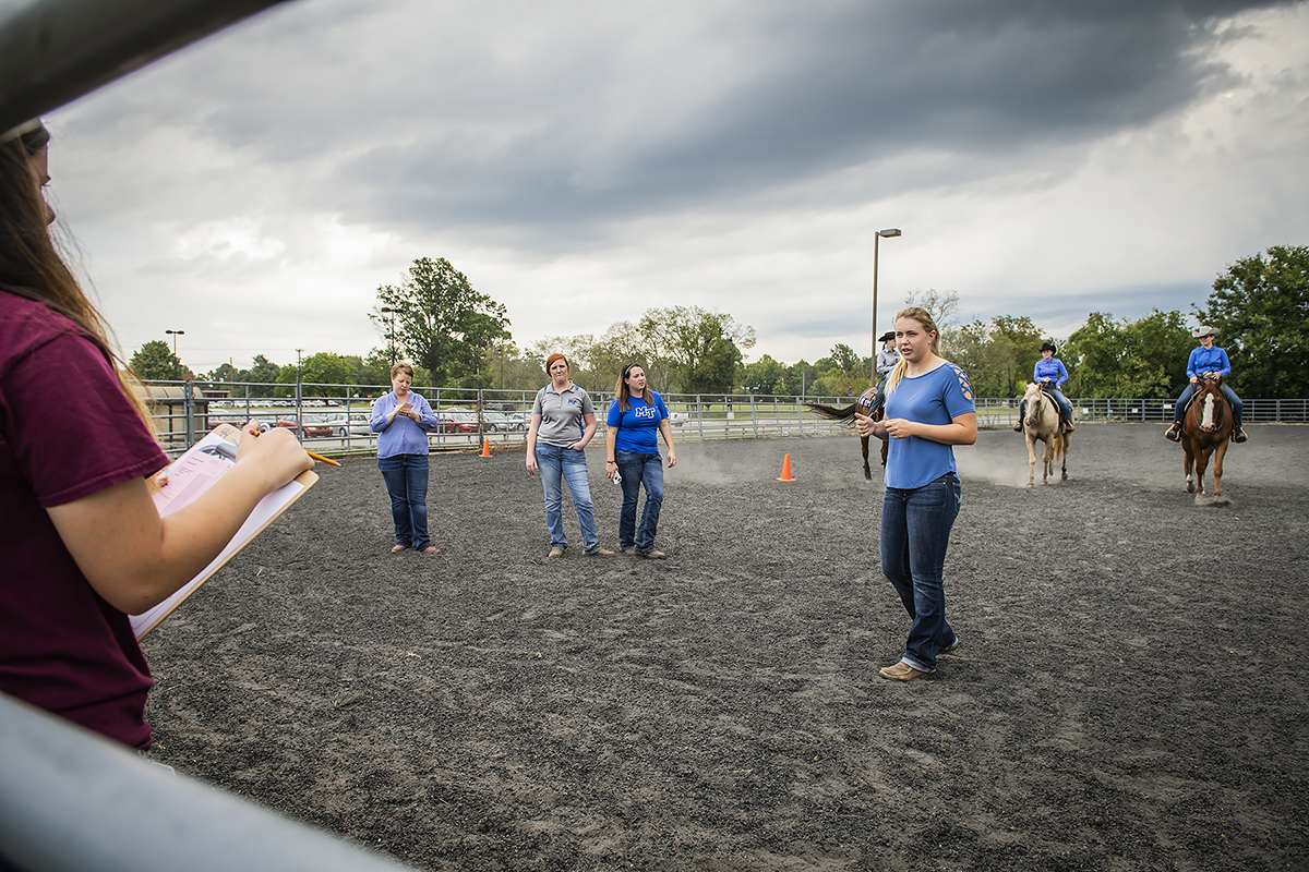 MTSU agriculture Raider Roundup  tests high school FFA skills