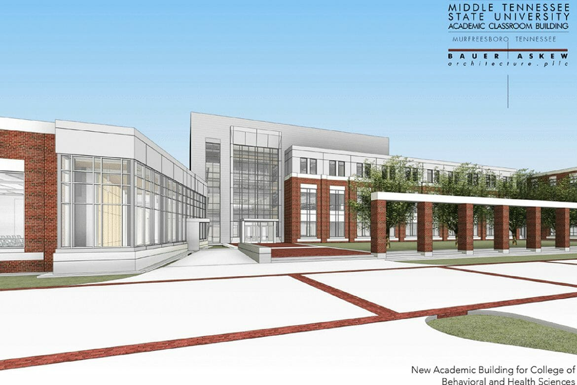 SEPT. 18: Groundbreaking for $39.6 Million Academic Building for College of Behavioral and Health Science Programs
