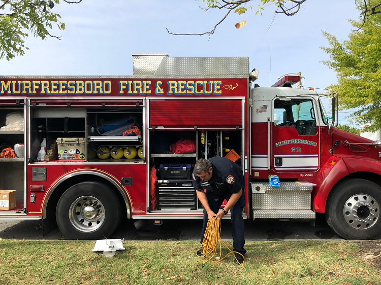 Rutherford County and Murfreesboro Rescue Workers Headed to South Carolina
