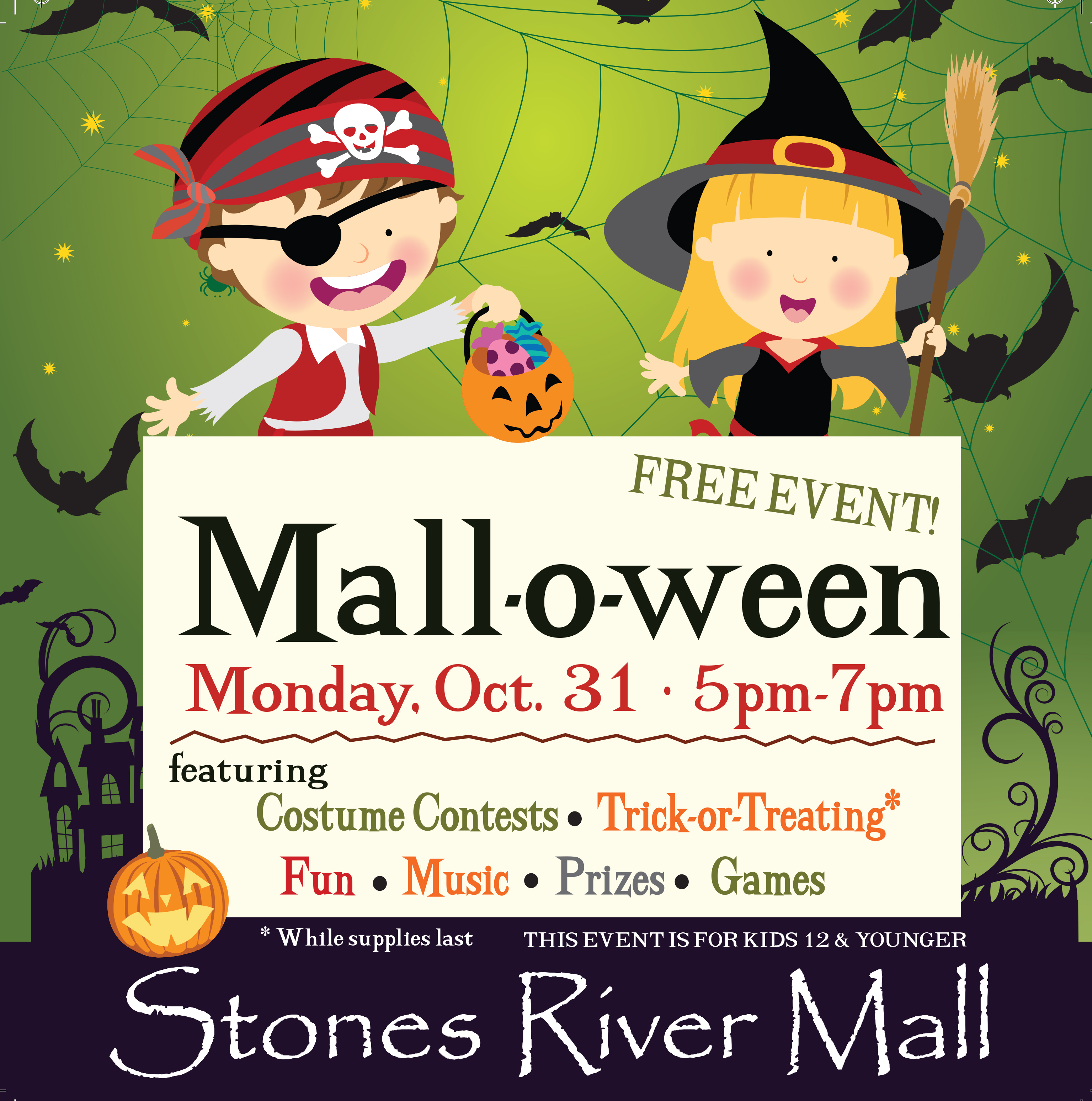 4th Annual Mall-O-Ween set for Oct. 31 at Stones River Mall