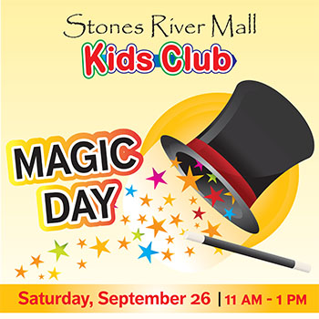 FREE Magic Show at the Stones River Mall