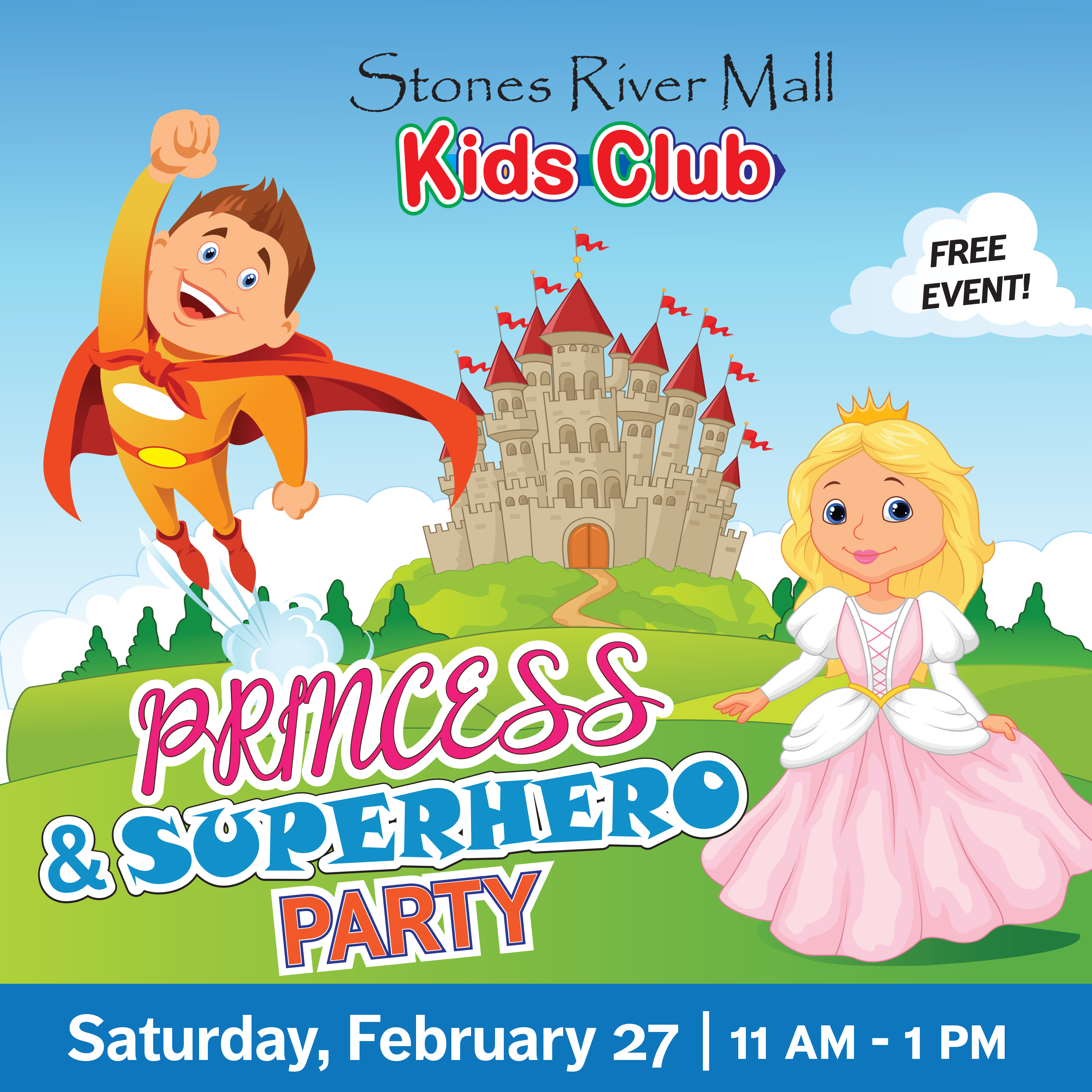 Time to get dressed up like a Princess or Superhero in Murfreesboro