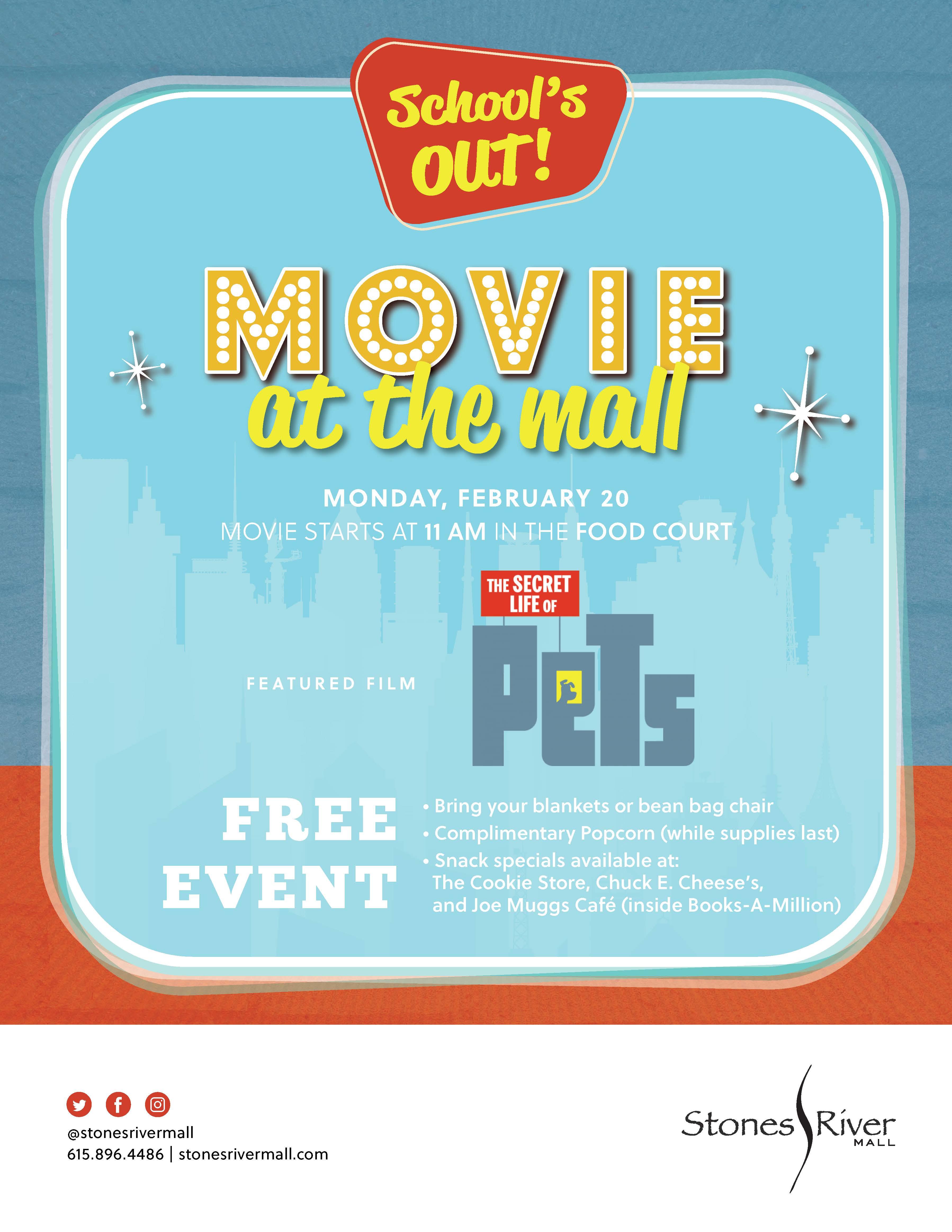 MURFREESBORO: Movie at the Mall