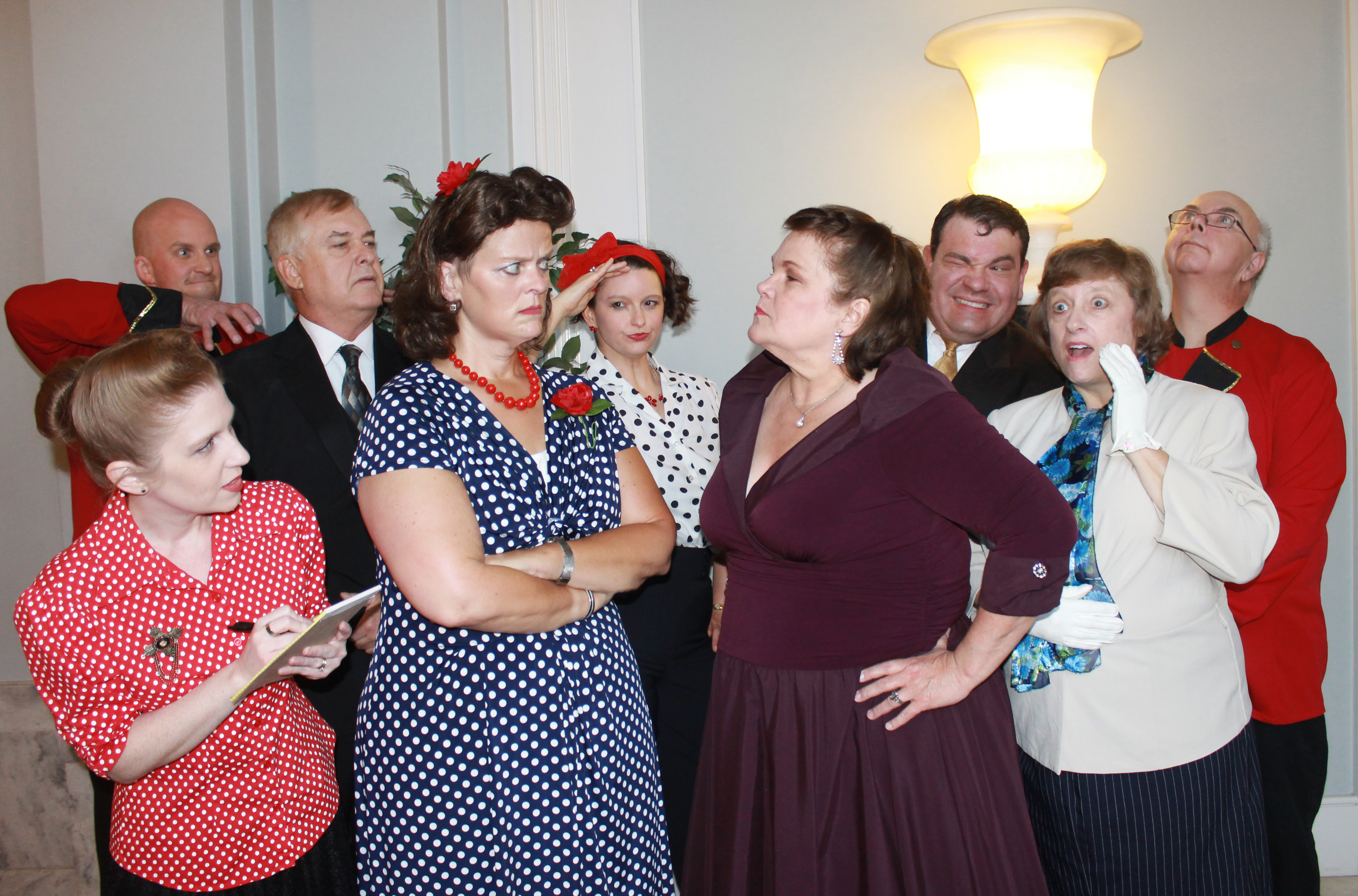 The Center for the Arts presents the hysterical farce SUITE SURRENDER