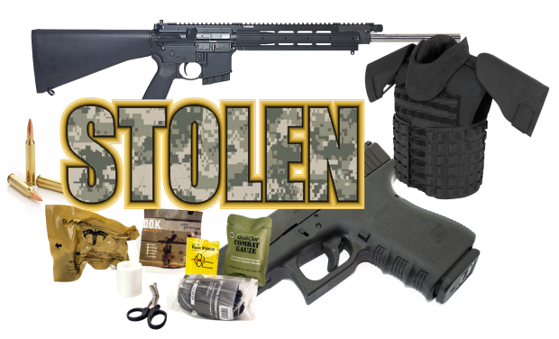 A slew of tactical gear, firearms and ammunition stolen from vehicle in Murfreesboro