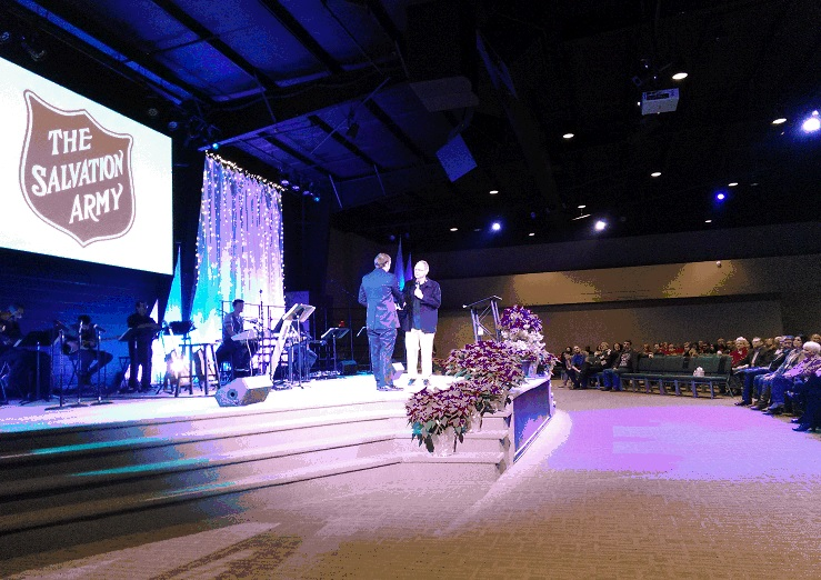 Family Worship Center's annual Holiday Celebration,