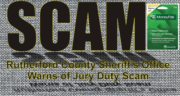 Jury Duty Scam Continues in Rutherford County