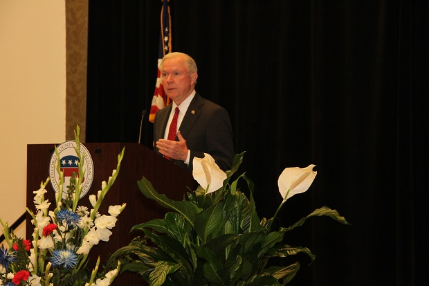 Senator Jeff Sessions (R-AL) Spoke to Murfreesboro Residents this past Sunday
