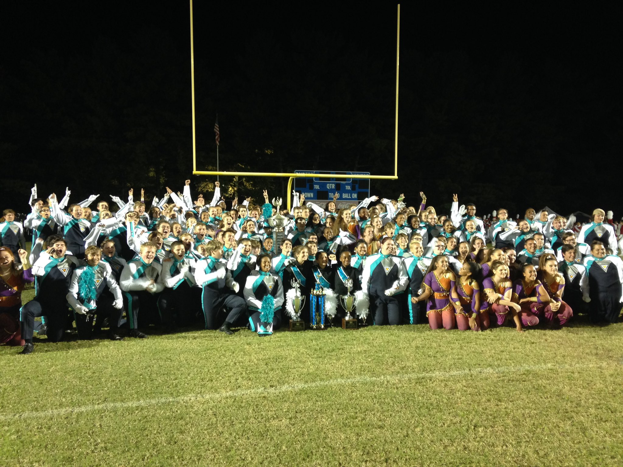 Siegel High School Band Wins the 38th Annual Music City Invitational in Nashville, TN