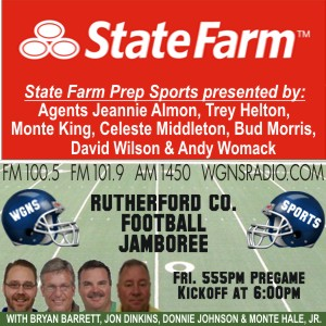 Prep Football Coverage Gets Underway | prep football, jamboree, WGNS, WGNS Sports, WGNS News, Murfreesboro news, Murfreesboro sports, Rutherford County news, Rutherford County sports