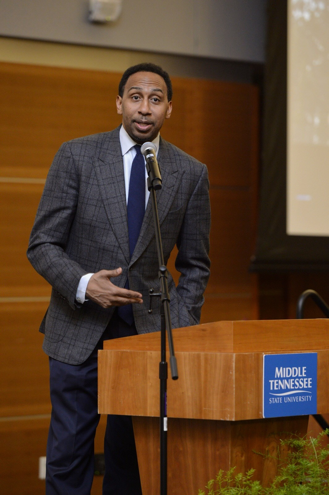 Smith tells MTSU audience Black History Month more about the future than past
