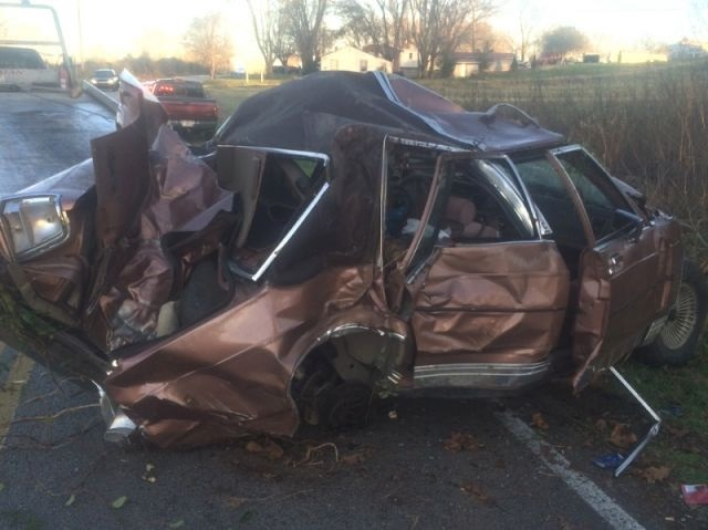 22 Year old seriously injured in Thanksgiving Day Crash in DeKalb County