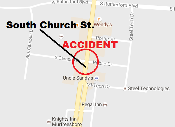 UPDATE: Accident Tuesday morning in Murfreesboro