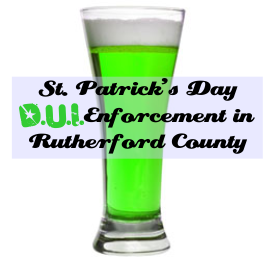St. Patricks Day Sobriety Checkpoint in Murfreesboro