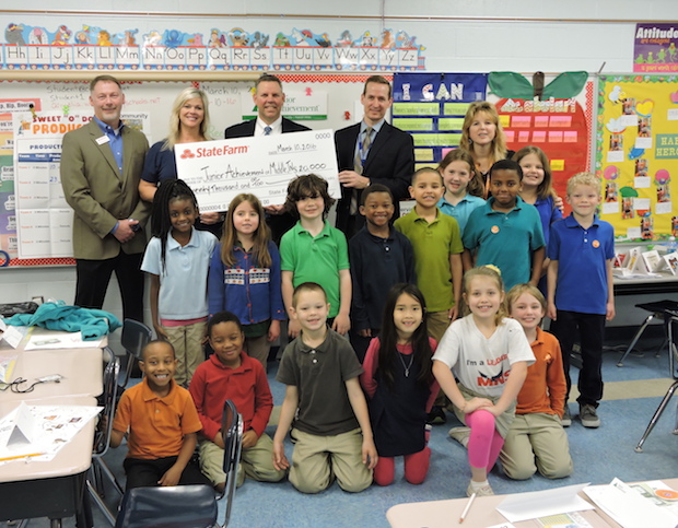State Farm Presents $20K to Junior Achievement of Middle Tennessee