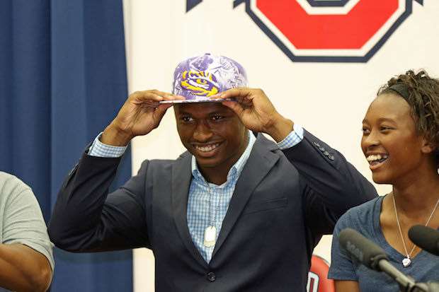 Oakland's JaCoby Stevens Chooses LSU