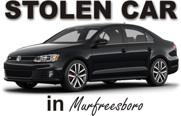 Stolen Sedan Recovered by Murfreesboro Police - Arrest Made