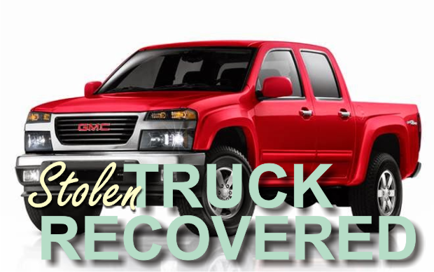 Truck stolen in Nashville, Recovered in Murfreesboro