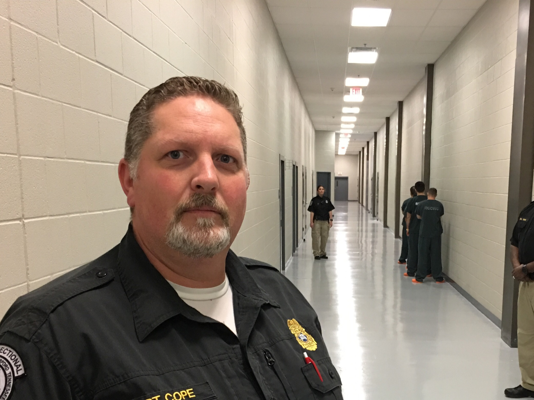 Newly appointed Superintendent of the Rutherford County Correctional Work Center