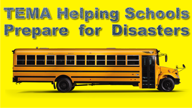 TEMA, Department of Education Working to Prepare Public Schools for Disasters and Emergencies