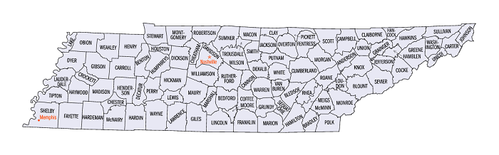 All 95 Tennessee counties have adopted their annual budget resolutions by August 31
